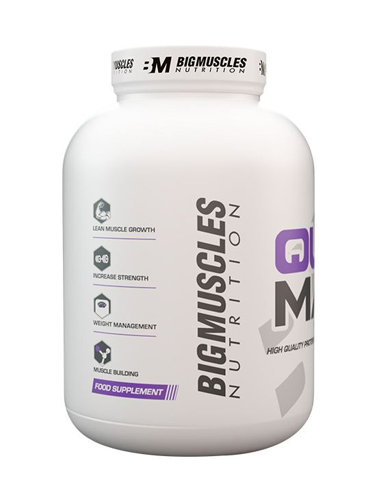 Picture of Bigmuscles Nutrition Quick Mass Cookie & Cream 6lbs
