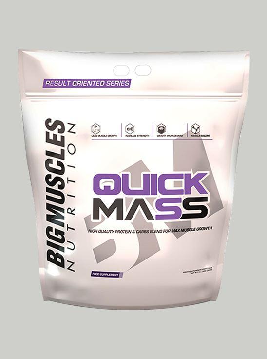 Picture of Bigmuscles Nutrition Quick Mass Cookie & Cream 11 lbs