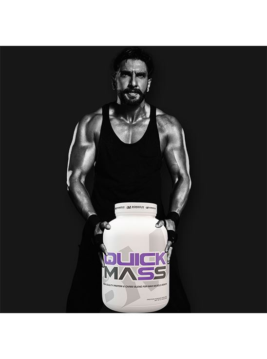 Picture of Bigmuscles Nutrition Quick Mass Malt Chocolate 6lbs