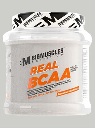 Picture of Bigmuscles Nutrition Real BCAA Summer Bonanza 50 Serving 250 gm