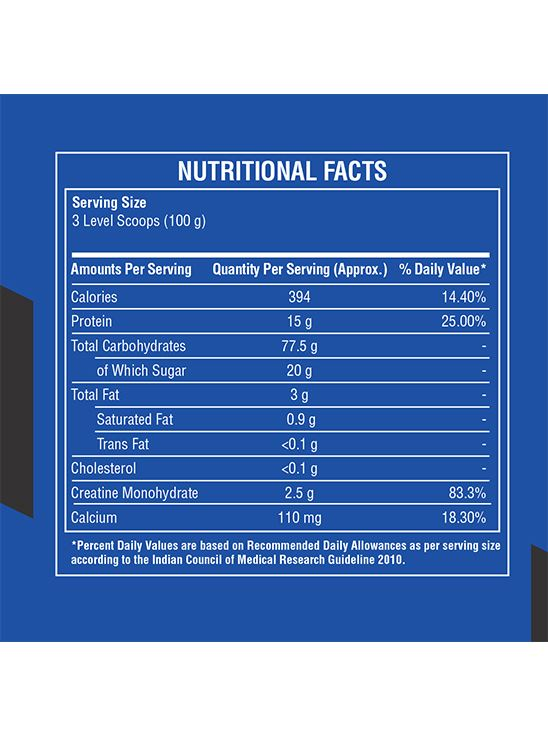 Picture of Bigmuscles Nutrition Smart Gainer Cookie & Cream 6 lbs