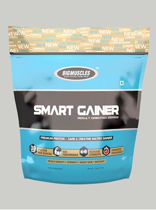 Picture of Bigmuscles Nutrition Smart Gainer Cookie & Cream 11 lbs