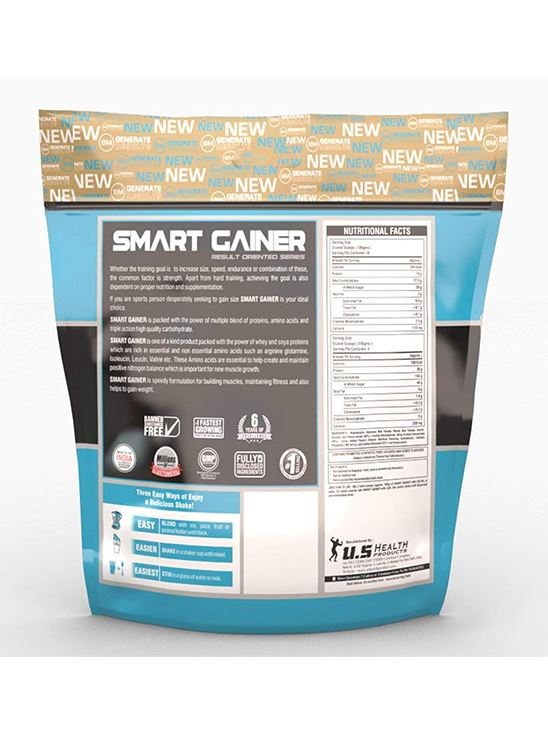 Picture of Bigmuscles Nutrition Smart Gainer Malt Chocolate 11 lbs