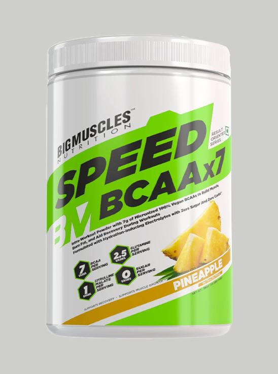 Picture of BIGMUSCLES NUTRITION SPEED BCAAX7 Pineapple 30 servings 360 gm