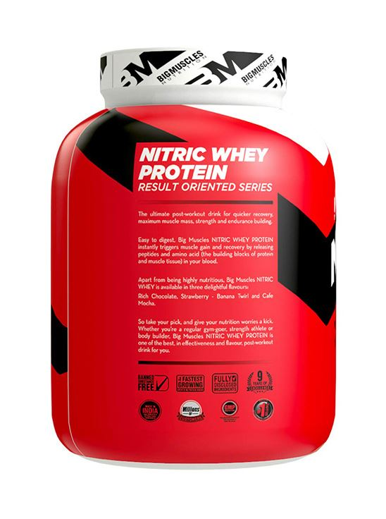 Picture of Bigmuscles Nutrition Nitric Whey Protein Café Latte 4.4 lbs