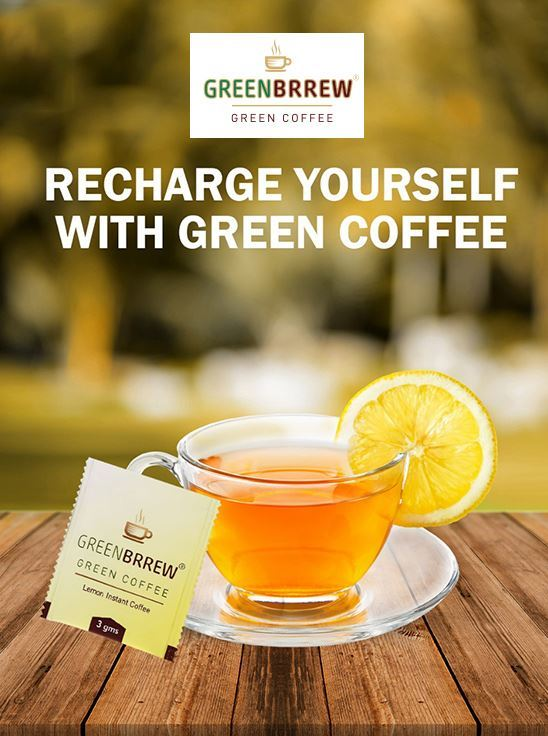 Picture of Greenbrrew Instant Green Coffee, Natural (20 Sachets, 3g Each)