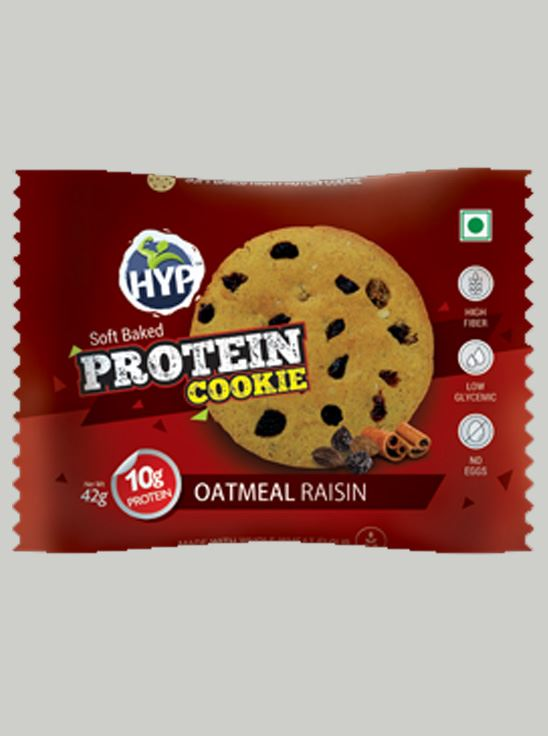 Picture of HYP Protein Cookies Oatmeal RaisinPack of 6