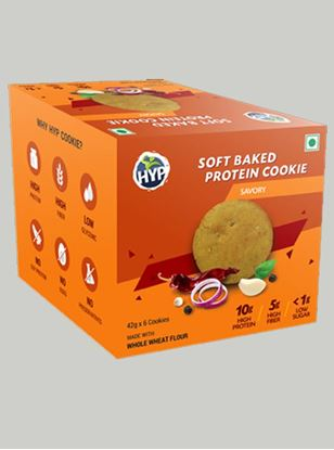 Picture of HYP Protein Cookies Savory Pack of 6