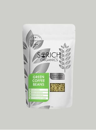 Picture of Sorich Organics Green Coffee Beans For Weight Loss 400 Gm