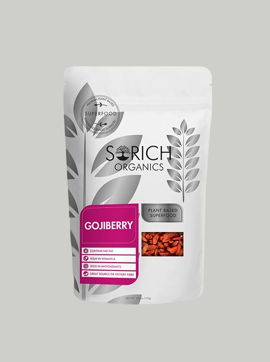 Picture of Sorich Orgnanics Naturally Dried Goji Berries 150 Gm
