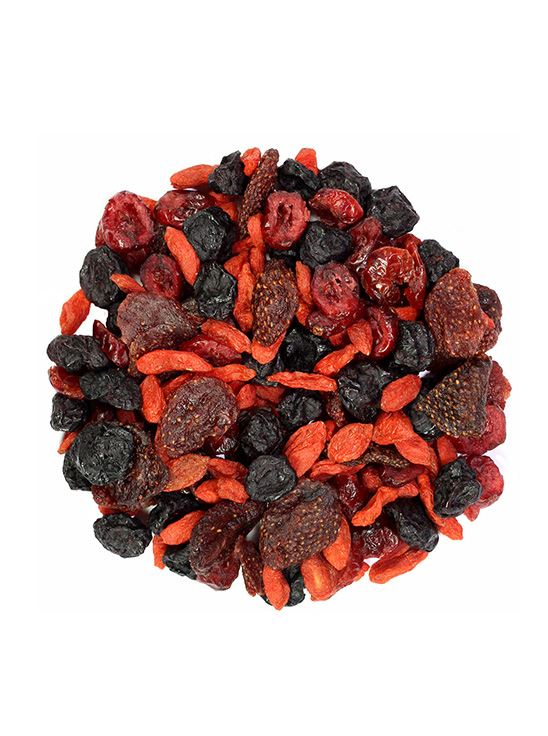Picture of Sorich Organics Berries Mix, High In Anti Oxidants (Unsulphured, Unsweetened And Naturally Dehydrated Berries) 200 Gm