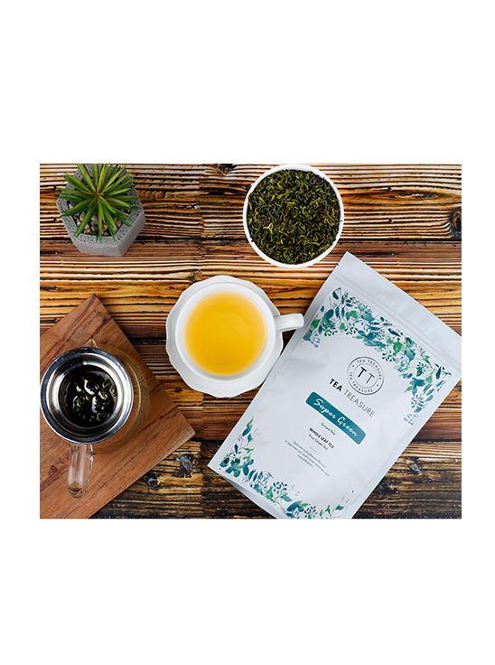 Picture of TeaTreasure Darjeeling Super Green Tea - 50 g