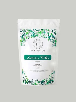 Picture of TeaTreasure Lemon tulsi Green Tea - 50 g