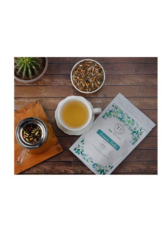 Picture of TeaTreasure Lemon tulsi Green Tea - 50 g