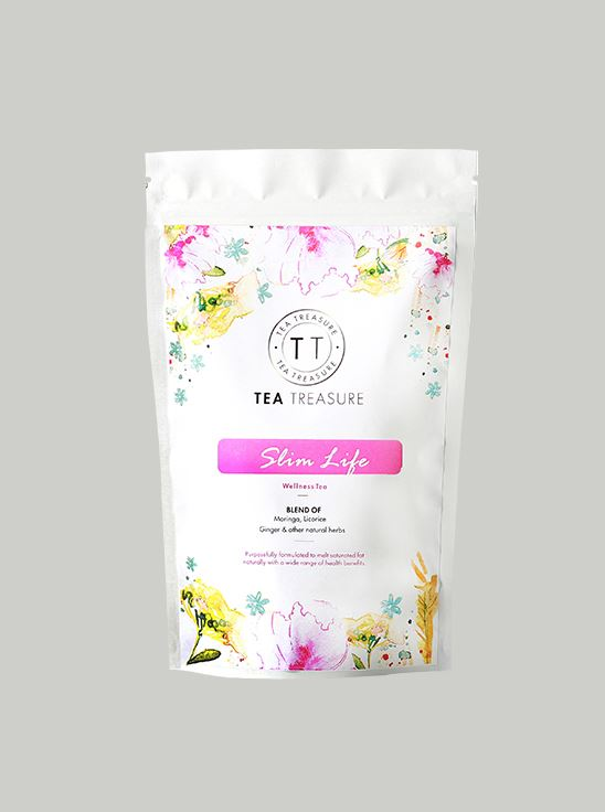 Picture of TeaTreasure Slim Life Slimming Tea For Weight Loss Improves Metabolism Skin detox tea - 50 g