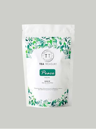 Picture of TeaTreasure Peace Jasmine Green Tea For Weight Loss - 50 g