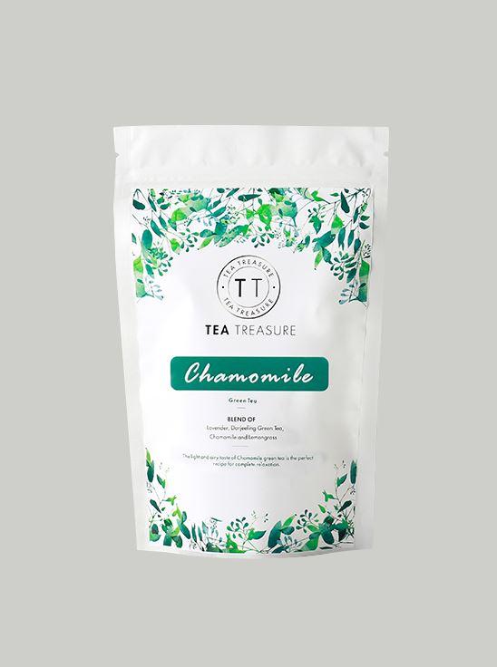 Picture of TeaTreasure Chamomile Green Tea - 50 g