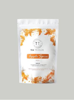 Picture of TeaTreasure Apple Spice Fruit Tea - 50 g