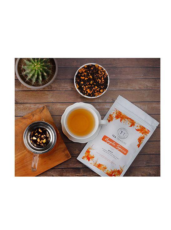 Picture of TeaTreasure Apple Spice Fruit Tea - 50 g