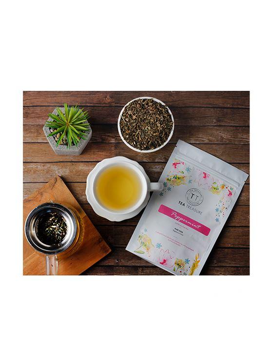 Picture of TeaTreasure Spearmint Herbal Tea - 50 g