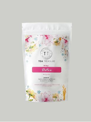Picture of TeaTreasure 28 Days Detox Herbal Tea - 100 g