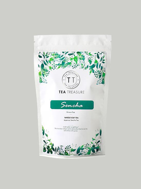 Picture of TeaTreasure Japanese Sencha Green Tea - 100 g