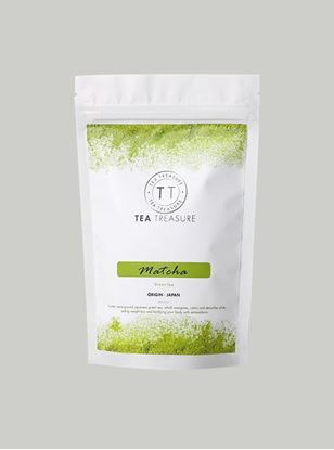 Picture of TeaTreasure Organic Japanese Matcha Green Tea Powder - 50 g
