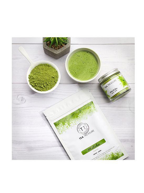 Picture of TeaTreasure Organic Japanese Matcha Green Tea Powder - 50 g