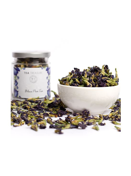Picture of TeaTreasure Butterfly Blue Pea Flower Tea - 25 g