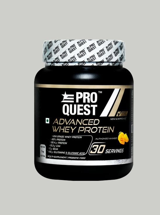 Picture of Proquest Advanced Whey Protein Alphonso Mango - 1Kg