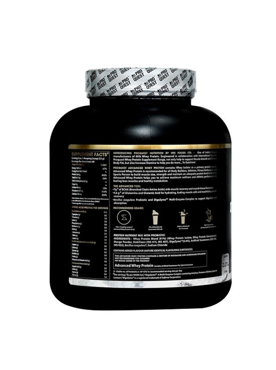 Picture of Proquest Advanced Whey Protein Alphonso Mango - 2.27Kg