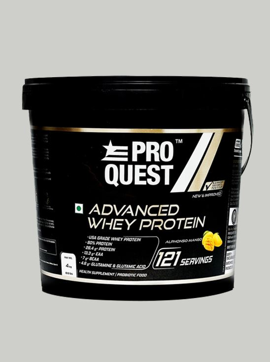 Picture of Proquest Advanced Whey Protein Alphonso Mango - 4Kg