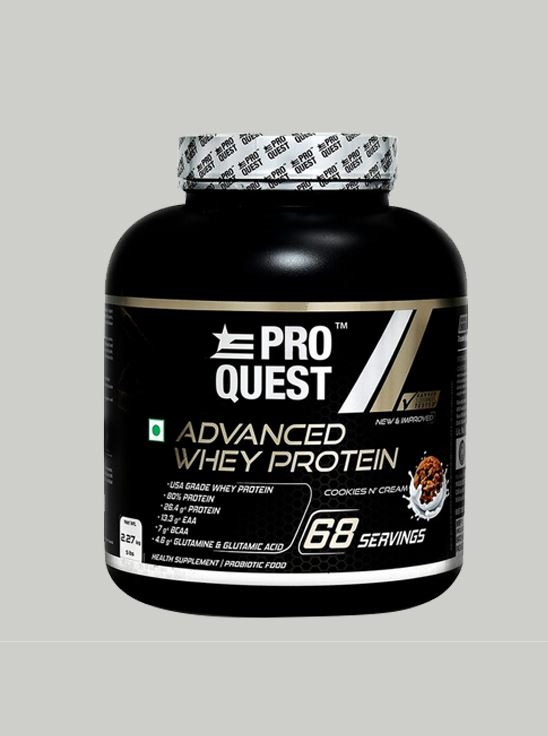Picture of Proquest Advanced Whey Protein Cookies N Cream - 2.27Kg