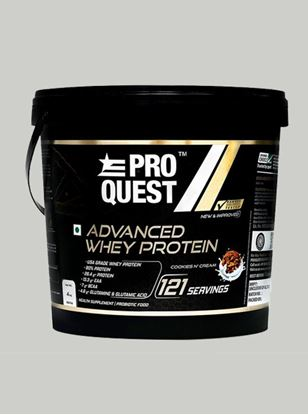 Picture of Proquest Advanced Whey Protein Cookies N' Cream - 4Kg