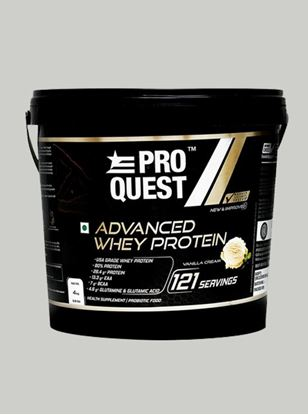 Picture of Proquest Advanced Whey Protein Vanilla Cream - 4Kg