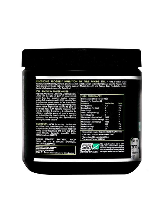 Picture of Proquest BCAA 2:1:1 Mixed Fruit - 300g