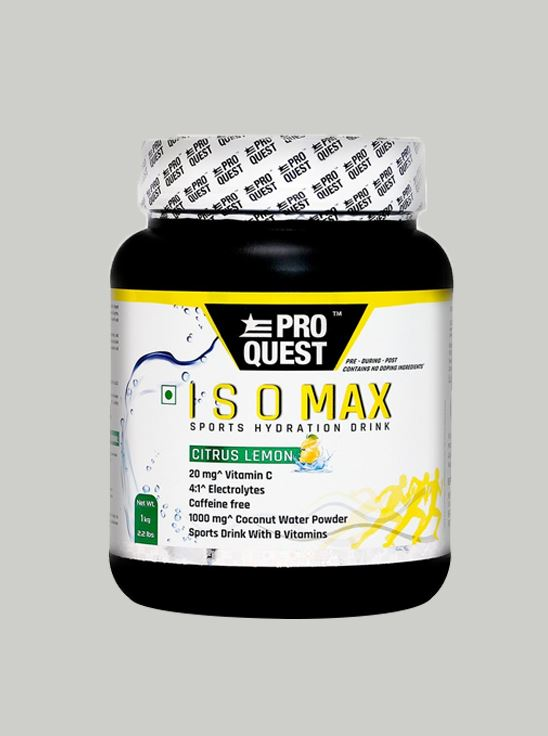 Picture of Proquest ISO MAX Sports Hydration Drink - Citrus Lemon - 1Kg