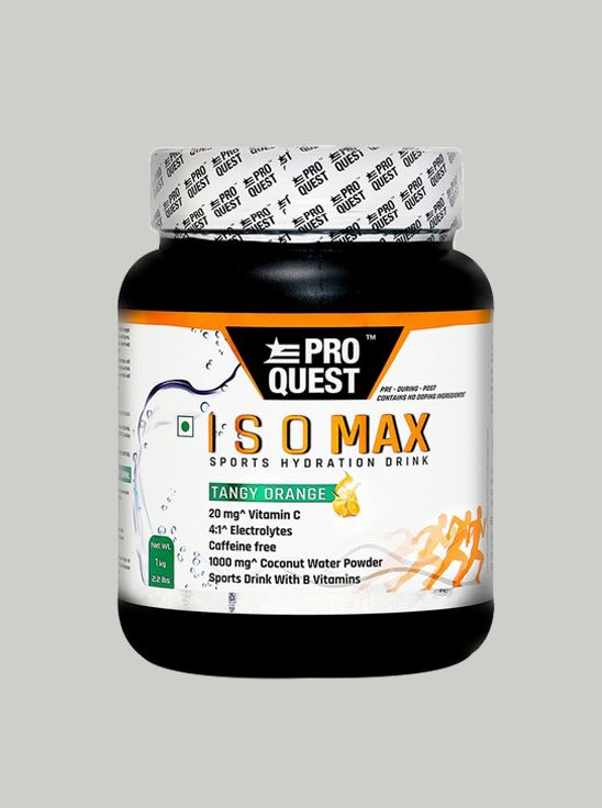 Picture of Proquest ISO MAX Sports Hydration Drink - Tangy Orange - 1Kg
