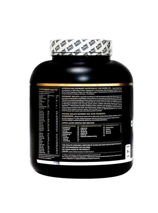 Picture of Proquest Isolate Vanilla Cream - 2Kg