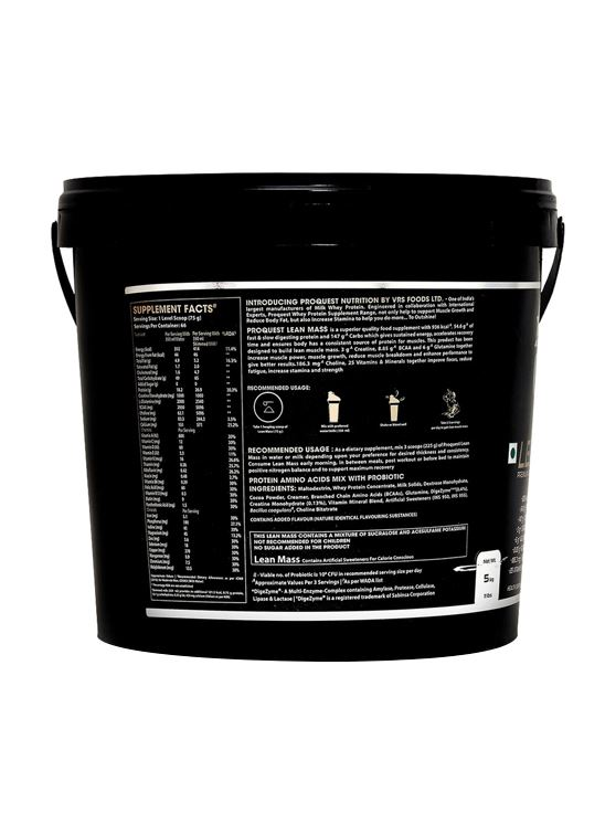 Picture of Proquest Lean Mass Milk Chocolate - 5Kg
