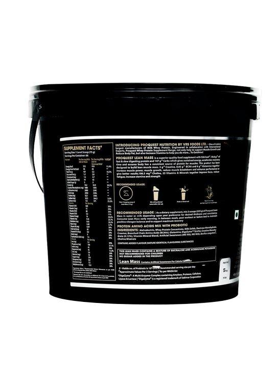 Picture of Proquest Lean Mass Vanilla Cream - 5Kg