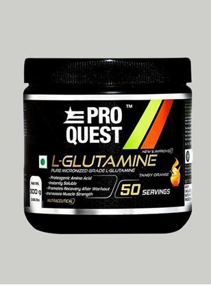 Picture of Proquest L-Glutamine Tangy Orange - 300g