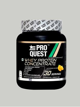 Picture of Proquest Whey Protein Concentrate Alphonso Mango - 1Kg