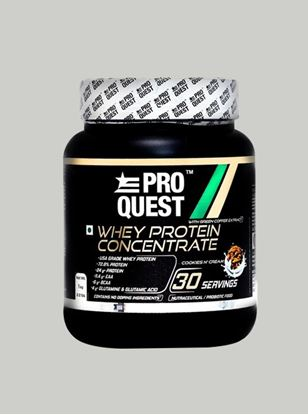 Picture of Proquest Whey Protein Concentrate Cookies N Cream - 1Kg