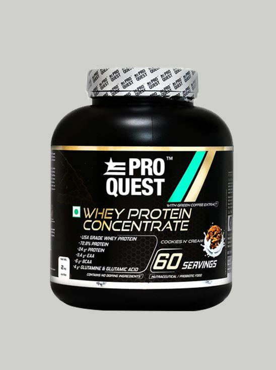 Picture of Proquest Whey Protein Concentrate Cookies N Cream - 2Kg