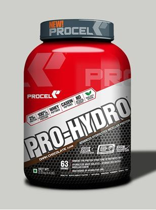 Picture of PROCEL PRO-HYDRO® Hydrolyzed Whey w/Hydrolyzed Micellar Casein 2kg Dark Chocolate