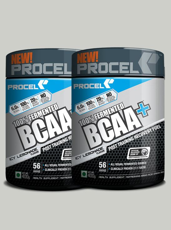 Picture of PROCEL 100% Fermented BCAA+ 400g Icy Lemonade - Buy One Get One Free (Short Shelf Life)