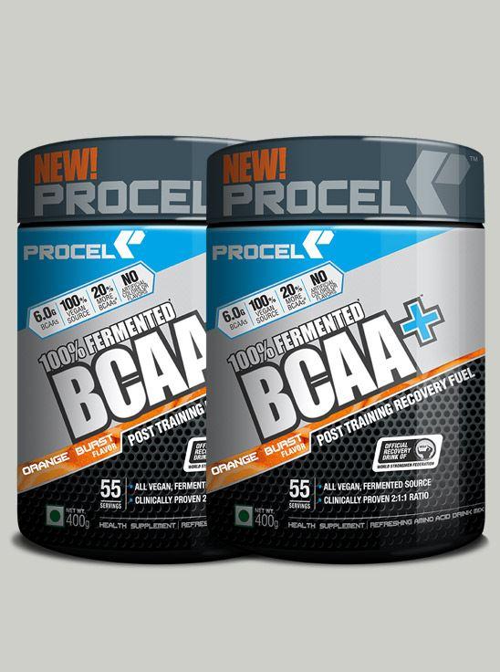 Picture of PROCEL 100% Fermented BCAA+ 400g Orange Burst - Buy One Get One Free (Short Shelf Life)