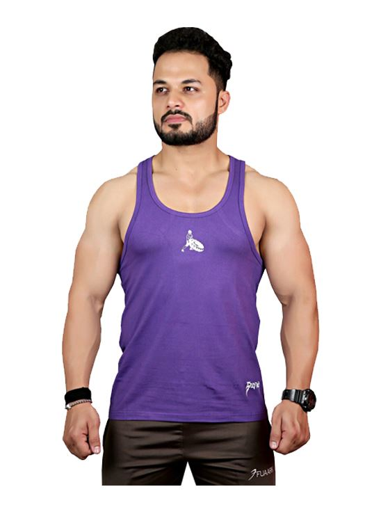 Picture of  Greywolf Fitness Miami Blue &Purple Arc Stringer Combo X - Large