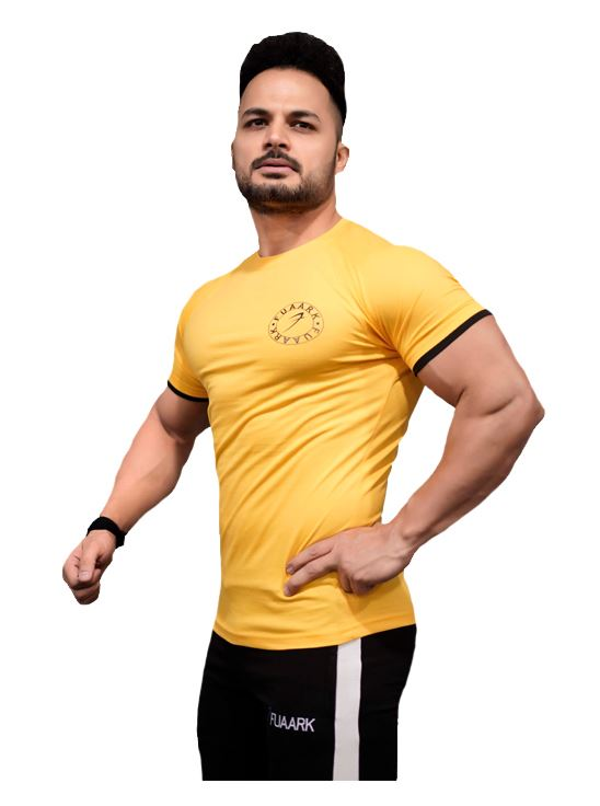 Picture of Fuaark Basic Tshirt Yellow Small